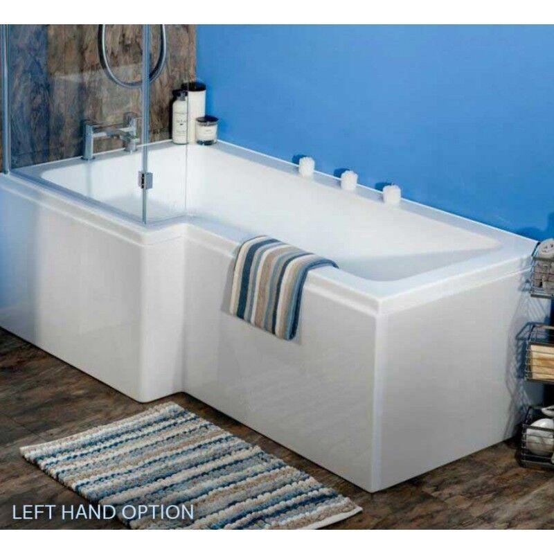 L Shaped P Shape Bath Tubs Screen Panel 1500 1600 1700 1800 Left Right Hand Uk Ebay