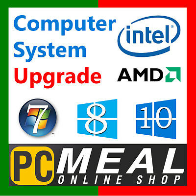 PCMeal Computer System Power Supply Upgrade to 850W