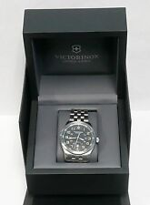 Victorinox Swiss Army Ariboss Mechanical Automatic 241508 w/ Black Dial + Boxes