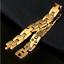 Goldkette-Armkette-Armreif-dicke-Panzerkette-Maenner-Kette-Herren-Damen-vergoldet Indexbild 4