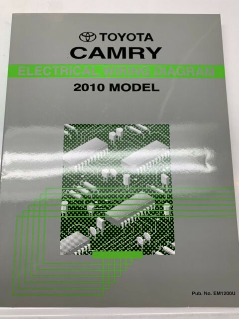 2010 Toyota Camry Electrical Wiring Diagram Service Shop