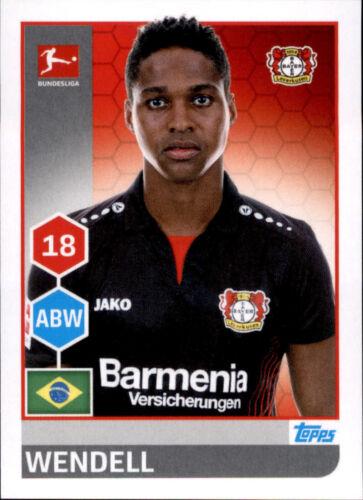 Sticker 170 TOPPS Bundesliga 2017/2018 Wendell