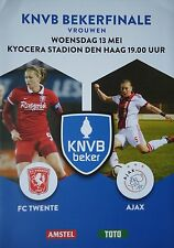 Programm KNVB Bekerfinale 13.5.2015 FC Twente - Ajax Amsterdam in Den Haag