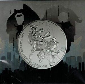 Canada-2016-20-for-20-Batman-v-Superman-Dawn-of-Justice-Fine-Silver-Coin