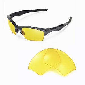wl yellow replacement lenses for oakley half jacket 2 0 xl rh ebay com