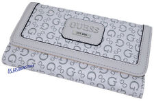GUESS Damen Geldbörse Portemonnaie Wallet Organizer Grau 17,5 x 9,5 cm Neu