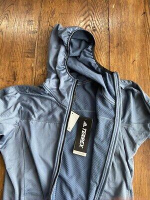 promoción identificación Descarte  adidas Terrex TraceRocker Hooded Fleece Jacket Small | eBay