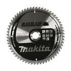 Makita Makblade Mitre 260mm x 60 Teeth 30mm Silver Saw Blade