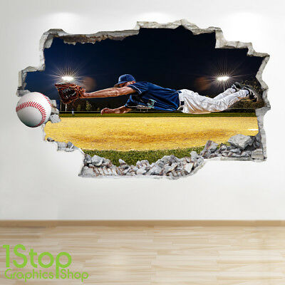 Basket Wall Sticker 3d Look-Boys Kids Bedroom Sport Wall Décalque z536