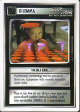 STAR TREK CCG WHITE BORDER PREMIERE 1995 BETA RARE CARD KTARIAN GAME