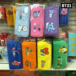 BTS-BT21-Official-Authentic-Goods-Big-Zipper-Pencil-Case-By-Kumhong-Fancy