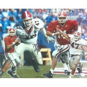David Greene & David Pollack Autographed/Signed Georgia Bulldogs 11x14 Collage