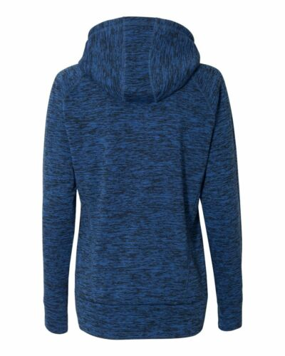 J.America Ladies Cosmic Hooded Pullover Sweatshirt Thumbholes 8616 S-3XL Hoodie