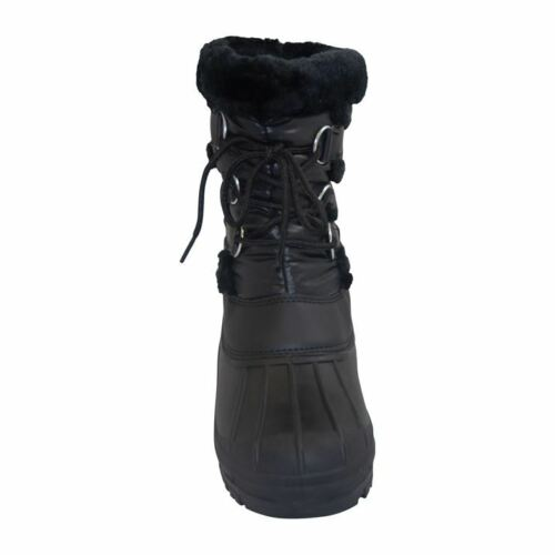 Requisite Lace Front Muckers yard boots BLACK ALL SIZES FROM 2-3--4--5-6-7-8