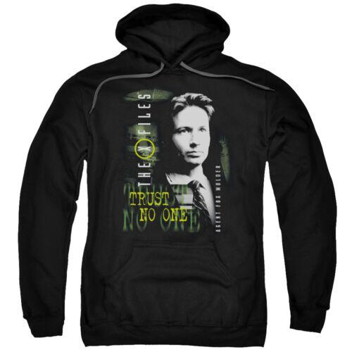 The X Files MULDER Licensed Adult Sweatshirt Hoodie
