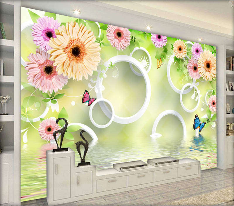 Elaborate Pure Rose 3D Full Wall Mural Photo Wallpaper Printing Home Kids Decor