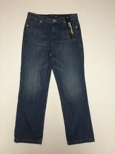 Nwt Entrejambe Taille 26 Express 4 haute Jeans droite Taille Culture zxqBUaCH