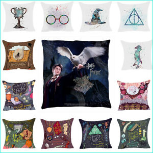 Harry-Potter-Polyester-Taie-Oreiller-Housse-De-Coussin-Maison-Sofa-Decor-45-45cm