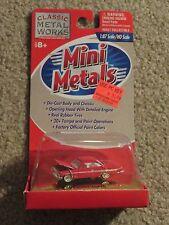 Classic Metal Works Mini Metals 61 1961 Chevrolet Impala Red 1:87 HO MOC 1999