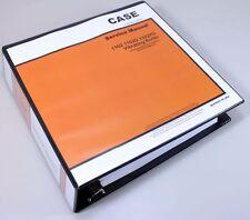 CASE 1102 1102D 1102PD VIBRATING ROLLER SERVICE TECHNICAL MANUAL REPAIR BINDER