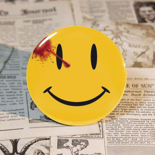 Bouton Visage Heureux Bouton comédien badge de Watchmen Aimant badge 58mm//2 .2 in environ 0.51 cm