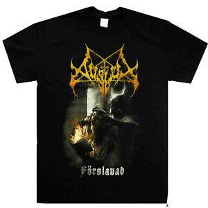 Avslut-Forslavad-Shirt-S-XXL-Shirt-Black-Metal-Tshirt-Official-Band-T-shirt