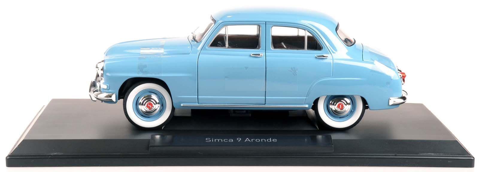 Norev 185741 Simca 9 Aronde 1954 azul pálido 1 18 nuevo en el embalaje original