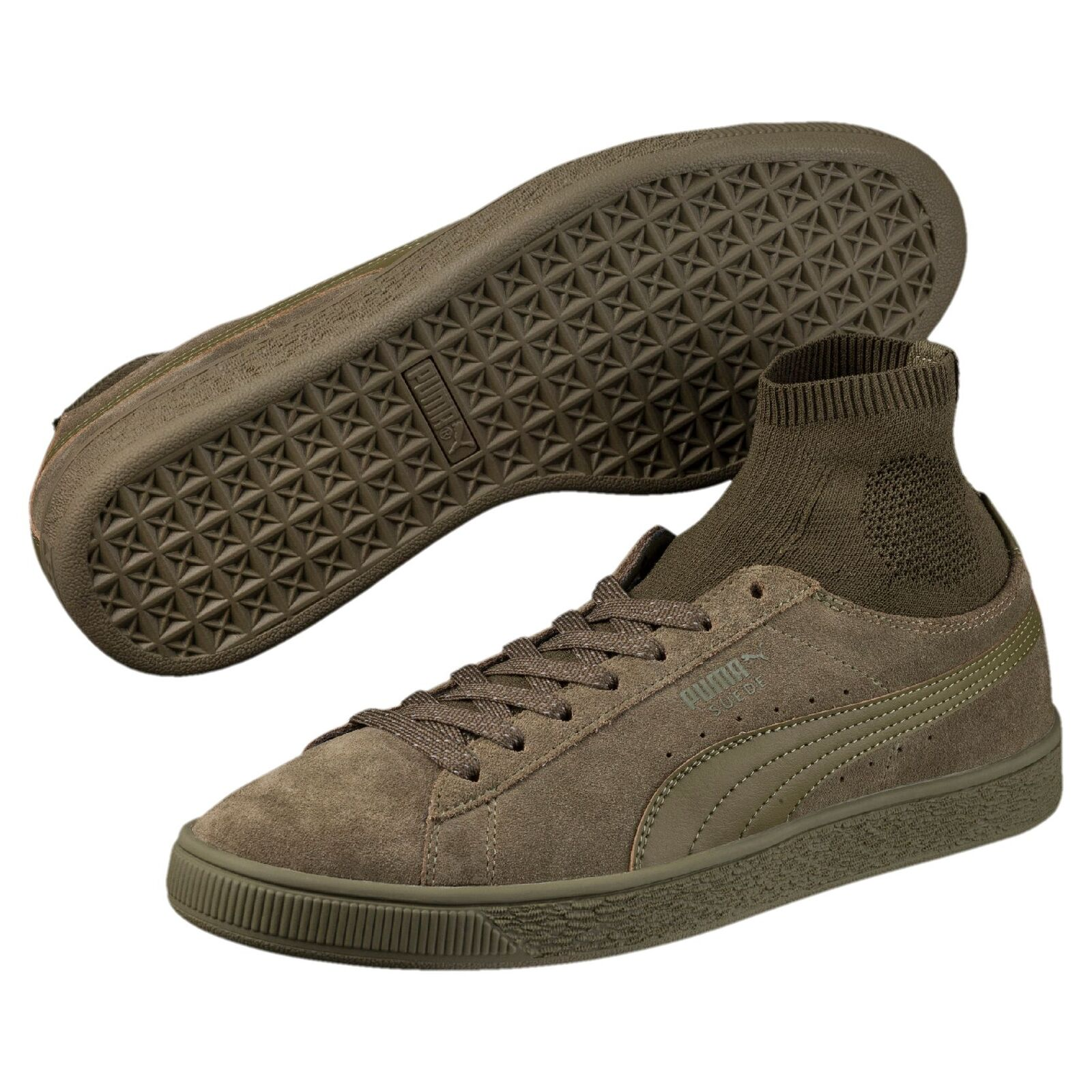 PUMA Suede Classic Sock Trainers Hombre Zapatos Clásicos del deporte Nuevo The latest discount shoes for men and women
