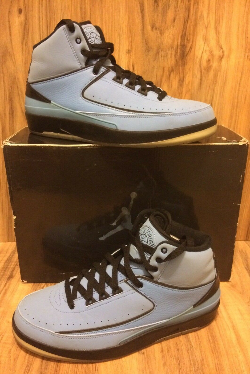 2010 Nike Air Jordan Retro QF QF QF 2 University bluee UNC Size 8.5 395709-401 1891a9