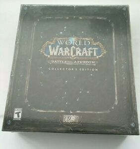 Brand New World of Warcraft Battle For Azeroth Collectors Edition - Sealed