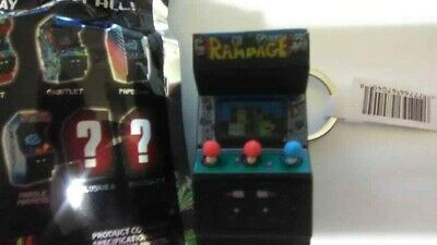 Monogram Figural Midway Classic Arcade Collector/'s Video Game Rampage Keyring