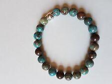Bracelet perles en agate (pierre Gemme semi-précieuse)