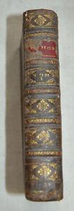 1732 Séthos Histoire ou vie Tirée des anecdotes ancienne egypte manuscrit grec