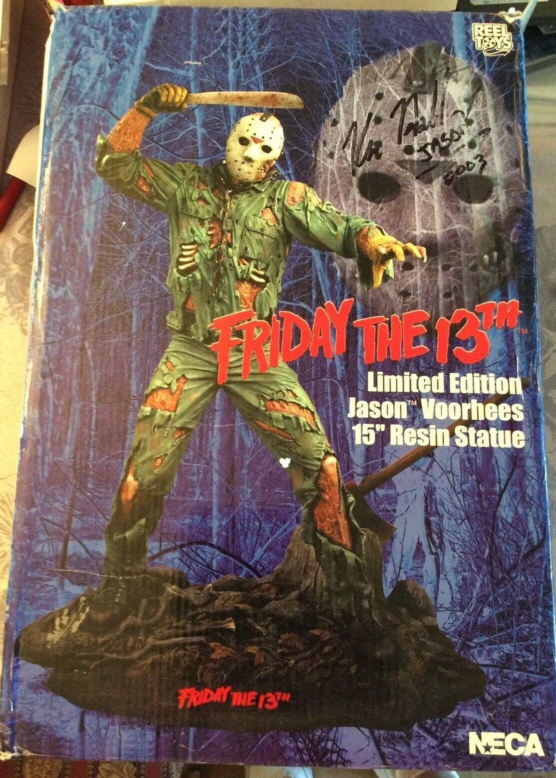 NECA REEL TOYS Friday the 13th Edición Limitada Jason Vorhees 15  De Resina Estatua