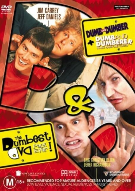 The Dumbest Pack Ever (DVD, 2004, 2-Discs)Both Movies*R4*Terrific Condition