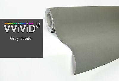 "VVIVID8 Black velvet 15ft x 4.5ft 53/"" vinyl stretch car wrap interior decal"
