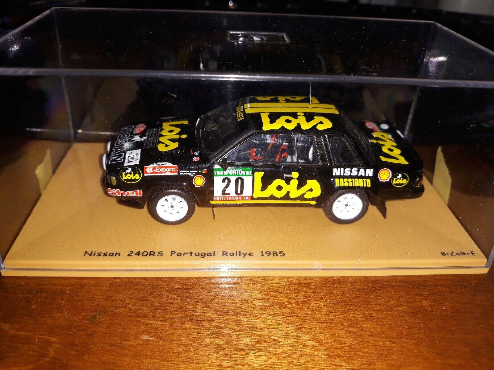 Bizarre 1 43 Nissan 240RS  20 Portugal Rallye 1985 BZ332