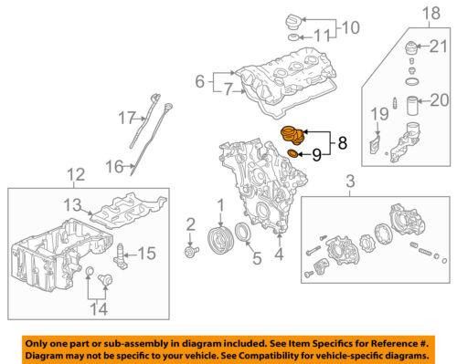 Cadillac GM OEM 04-07 CTS 3.6L-V6 Engine-Oil Filler Tube 12597946