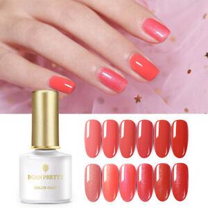 BORN-PRETTY-6ml-Red-Series-Gellack-Gel-Polish-Glitter-Soak-Off-UV-Gel-Varnish