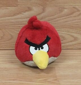 Genuine Angry Birds Red Cardinal Plush Toy Stuffed Animal Only