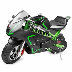 Gas-Pocket-Bike-motorbike-Scooter-40cc-Epa-engine-Motorcycle-kids-Teens-DB40B