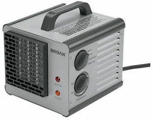 6201 Broan Big Heat Cube Portable Electric Space Heater