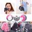 13cm Kawaii Bunny Rex Rabbit Fur Phone Car Pendant Handbag Girl Key Chain US