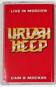 Uriah Heep Live In Moscow Rare Hungary Cassette Tape 57362135444 Ebay