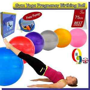 how to use a gym ball when pregnant