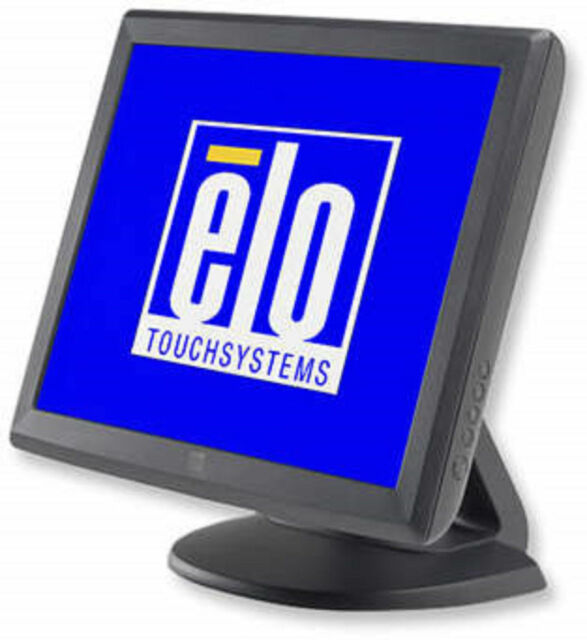 "Elo Touch Systems ET1515L E700813 15"" LCD Touchscreen Monitor Serial USB Grade A"