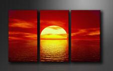 Bilder auf Leinwand Sonne 160x90cm XXL 1094 _ Marke Visario