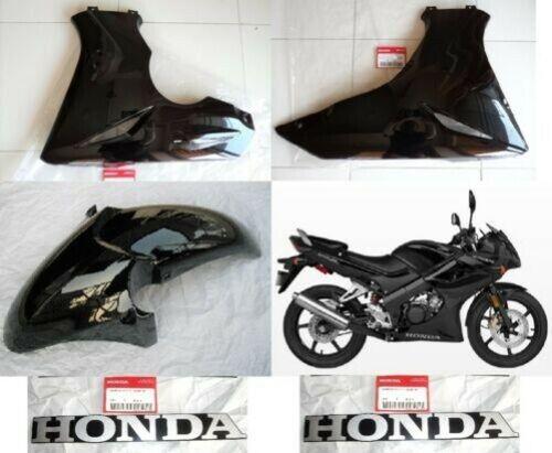 Honda CBR 125 R Verkleidung /& Schutzblech Schwarz Paneele 2004-2010