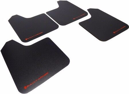 Rally Armor Basic Universal Mud Flaps Set of 4 No HW, Multi Pack of 15! MF12-BAS