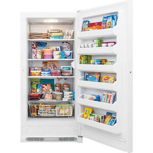 Chest Freezer 5 Cu Ft 20.9 Cubic Foot Kenmore Upright Freezer With Lock!